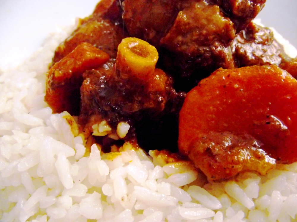 Spicy Hot Oxtail!  (1/5)