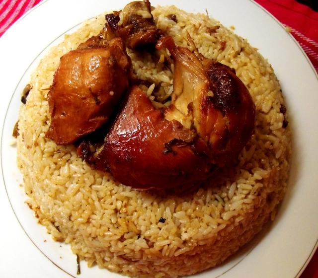 Arroz con pollo    Dominican Arroz Con Pollo