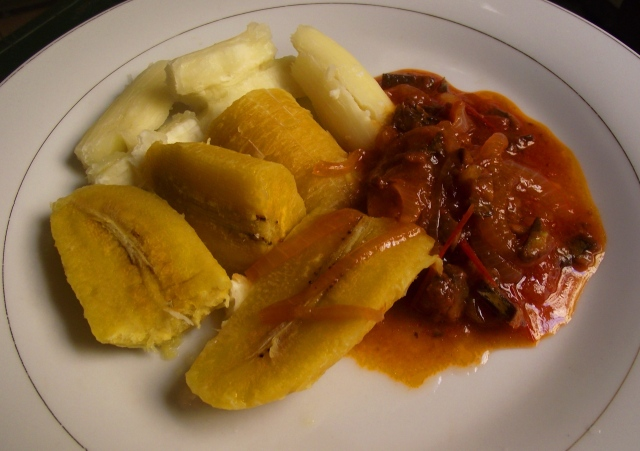 "stewed herring and ""trozo"""