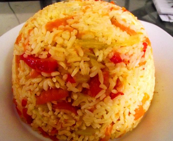 Carrot rice! (1/6)