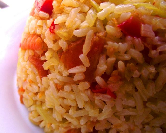 Carrot rice! (2/6)