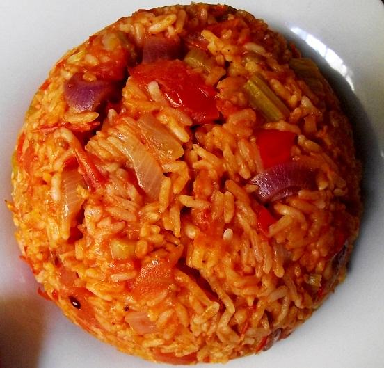 gazpacho rice (tomato rice)