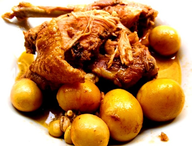 organic hen (gallina criolla)