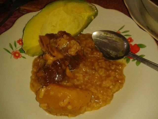 Dominican beef asopao